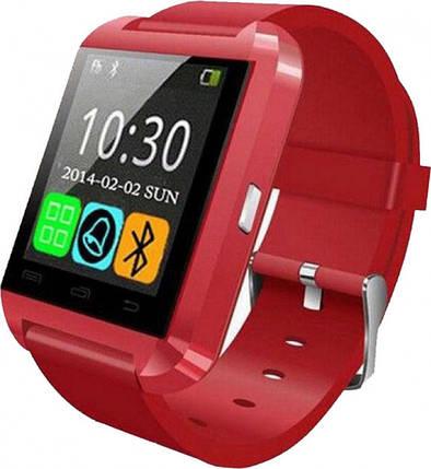 Часы Smart Watch U8 Red Гарантия 1 месяц, фото 2
