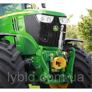 Передні гідравлічні навішування і фронтальний ВМО тракторів