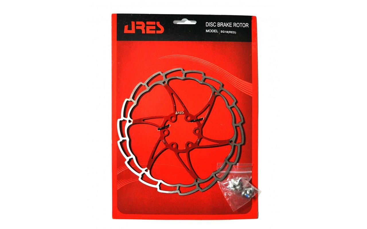 Ротор Ares 180мм SG18 красный