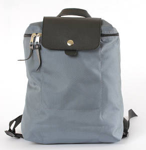 Backpack Red Point Fold S Small Grey