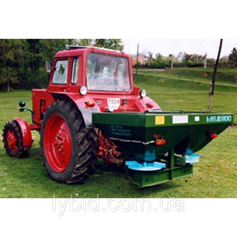 Машина для внесения минеральных удобрений, разбрасыватель минеральных удобрений  МВУ-900, 1000
