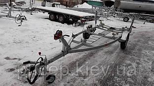 Прицепы для перевозки лодок ПВХ. Тормоза!