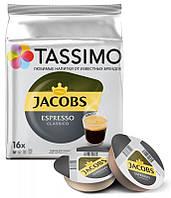 Кофе в капсулах Tassimo Jacobs Espresso 16 порций. Германия (Тассимо), 118,4г