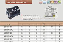 TRS-5R-50-22-4T  Фрезерная головка скоростная, фото 2