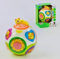 Развивающая игрушка Веселый шар 938 (12) в коробке