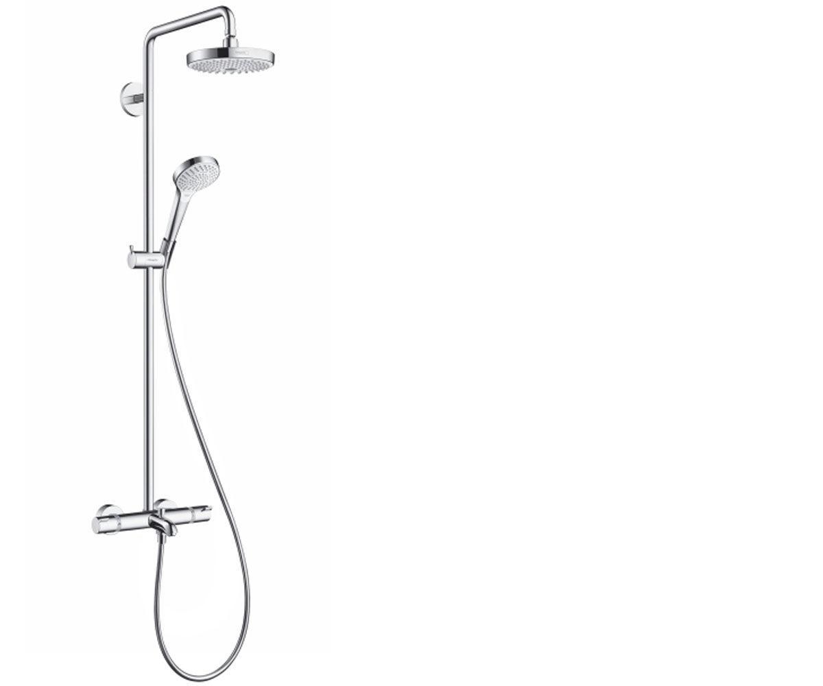 Нужно дешевле? Звоните. Hansgrohe Croma Select S 180 2-jet Showerpipe Душевая система для ванны, 27351400