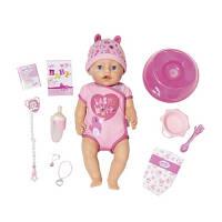 Кукла Zapf Baby Born Очаровательная малышка с аксессуарами 43 см