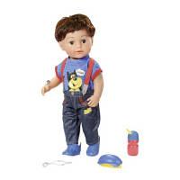 Кукла Zapf Baby Born Старший Братик с аксессуарами 43 см