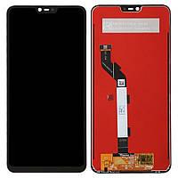 Дисплей (экран) для Xiaomi Mi8 Lite с сенсором (тачскрином) черный
