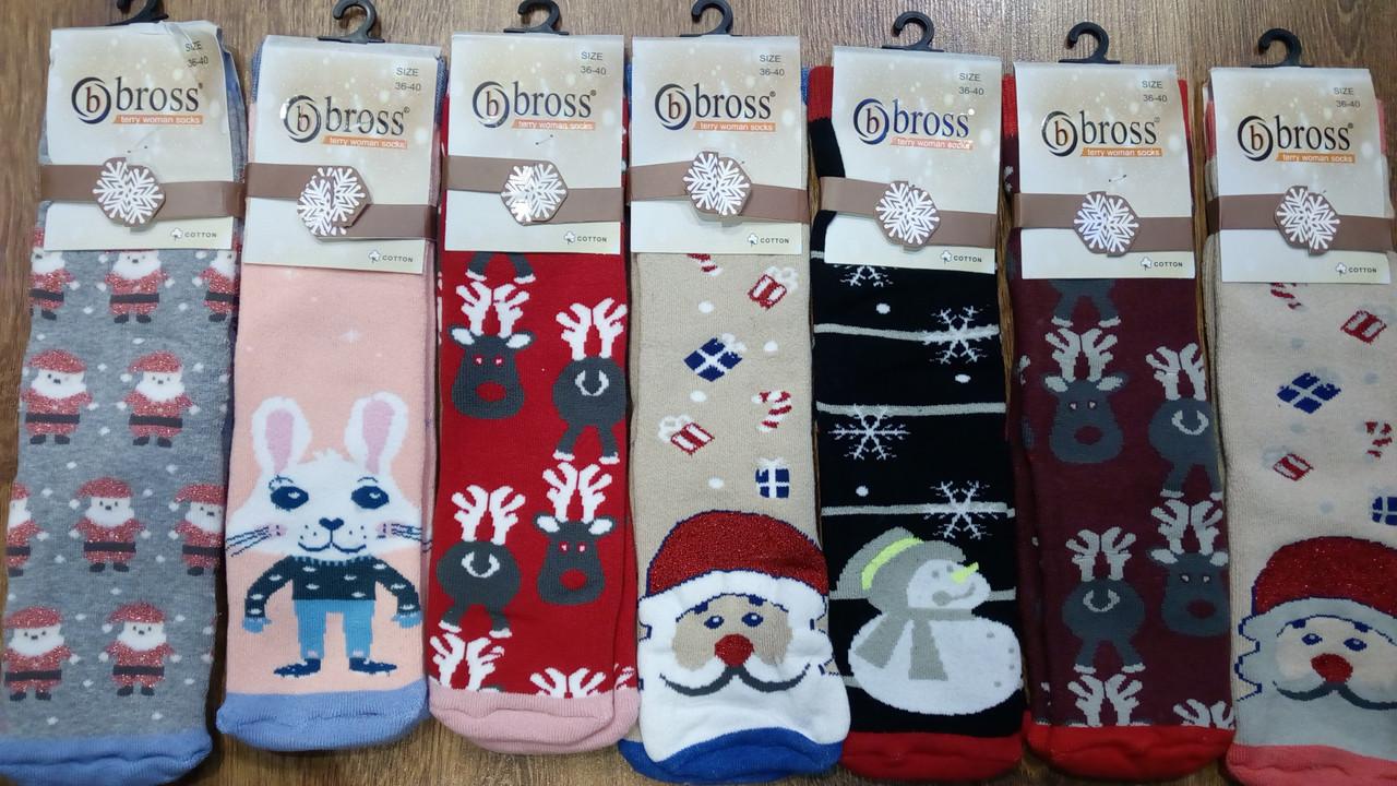 """Жіночі махрові шкарпетки""""Bbross"""",Туреччина"""