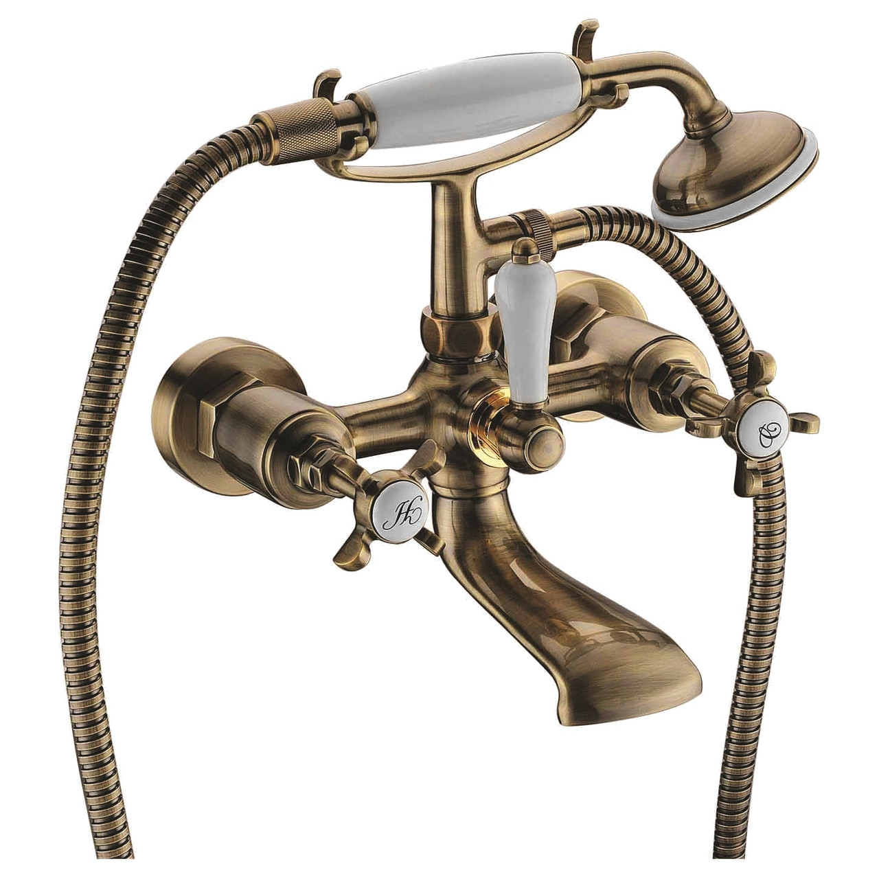 Скидка есть! Звоните. Imprese CUTHNA antiqua двухвентильный смеситель для ванны, бронза