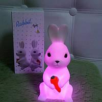 Детские ночники, Ночники в детскую комнату, LED ночник Заяц