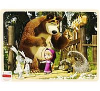 Игра на логику деревянная Маша и Медведь