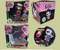 Кукла-сюрприз L.O.L. Glitter Series черная