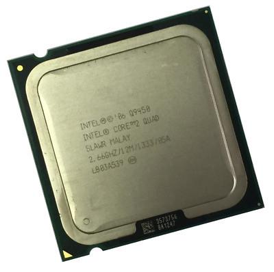 Процессор четыре ядра Intel Core2Quad Q9450 LGA775  2.66GHZ/12M/1333/05A