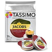 Кофе в капсулах Tassimo Jacobs Caffe Crema 16 порций. Германия (Тассимо), 112г