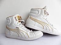 Женские высокие кроссовки Puma First Round Flip WP 100% Оригинал р-р 37 (23,5 см)  (б/у,сток) original пума, фото 1