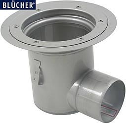 Промисловий трап Blucher 763.602.110, нержавіюча сталь, горизонтальний вихід DN110