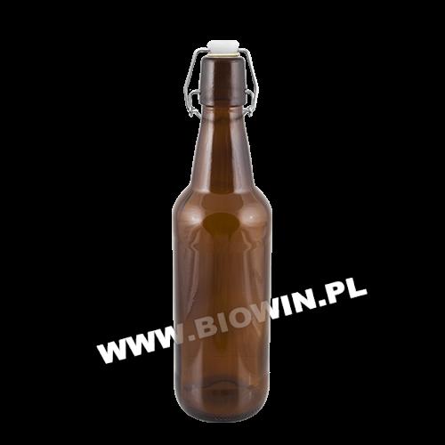 Пляшка для пива 0,5 л з механічною пробкою