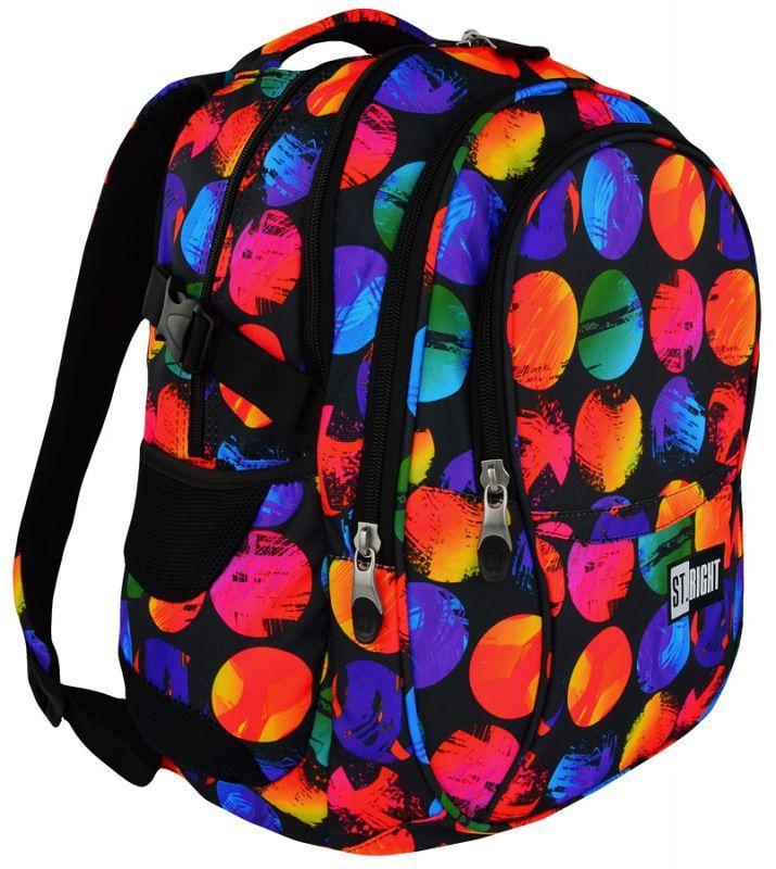 Рюкзак ST.RIGHT 23L, модель Colorful Dots (43x32x21см)