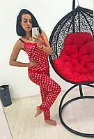 Пижама женская стрейч+французское кружево, фото 1