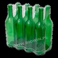 Бутылка для вина 0,75 л зеленая - групповая упаковка