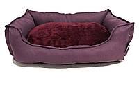 """Диван """"Мирабель"""" для собак, сиреневый, большой 70х52x18 см"""