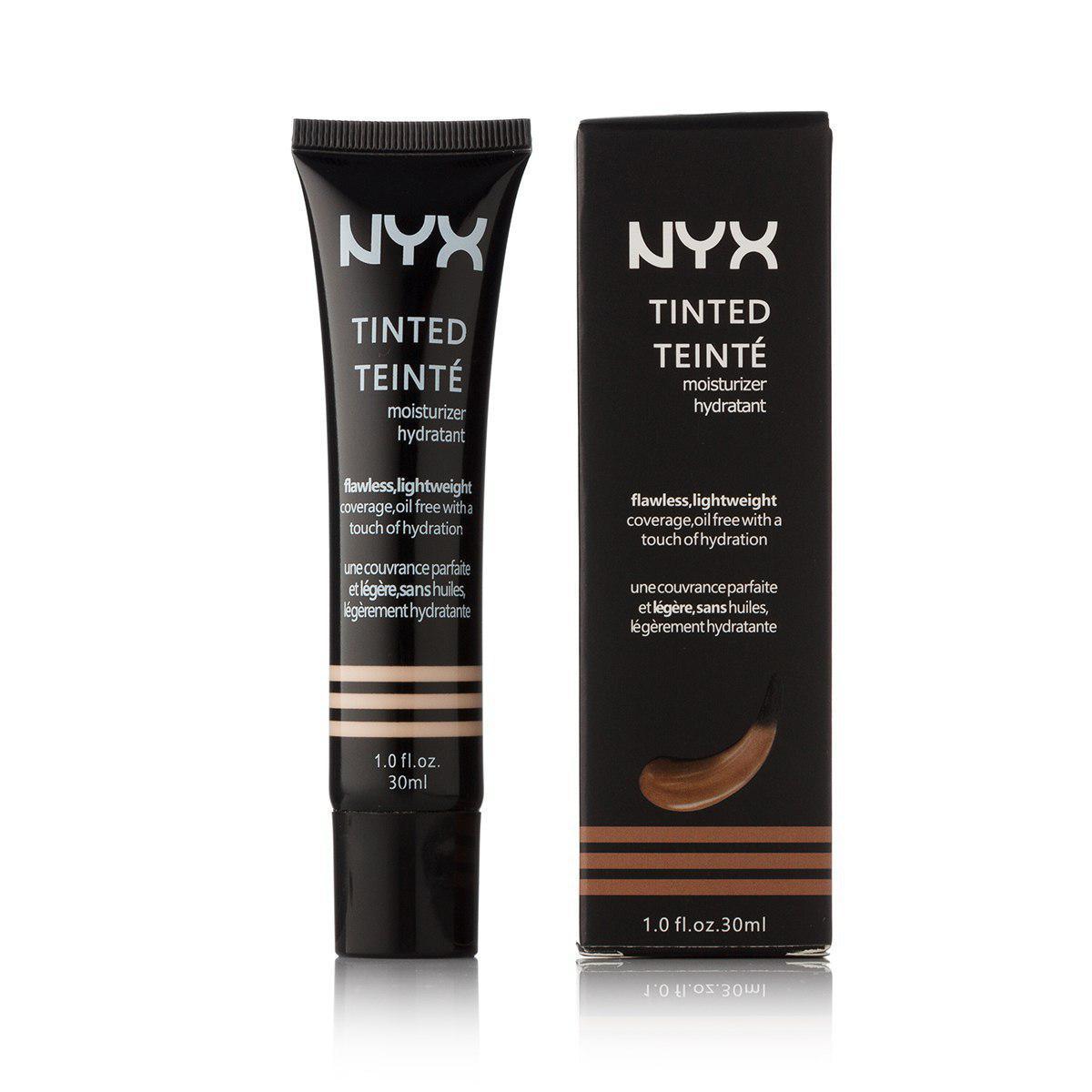 Крем тональный NYX Professional Makeup Tinted Moisturizer тюбик 30мл №1,3,5 - UBC3