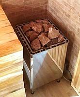 SKLE 1501 Хром HELO Напольная Электрическая печь для Бани Сауны 24м³ В комплетке нет пульта