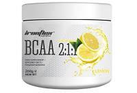 Аминокислоты IronFlex - BCAA 2:1:1 (200 грамм) lemon/лимон