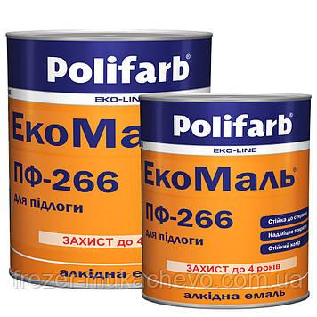 ЕкоМаль ПФ-266 жовто-коричнева 0,9 кг.