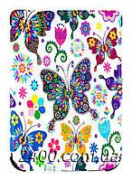 Обложка - чехол для PocketBook 616 Basic Lux 2, 627 Touch Lux 4, 632 электронной книги с графикой Бабочки