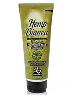 Крем для загара в солярии Solbianca Hemp Bianca с маслом конопли и экстрактом алоэ 125 мл 8810 0, КОД: 294066