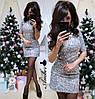 """Платье """"Огонек"""", паетка + подклад трикотаж.  Размер:42-44,44-46. Цвета разные (5335), фото 3"""
