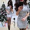 """Платье """"Огонек"""", паетка + подклад трикотаж.  Размер:42-44,44-46. Цвета разные (5335), фото 4"""