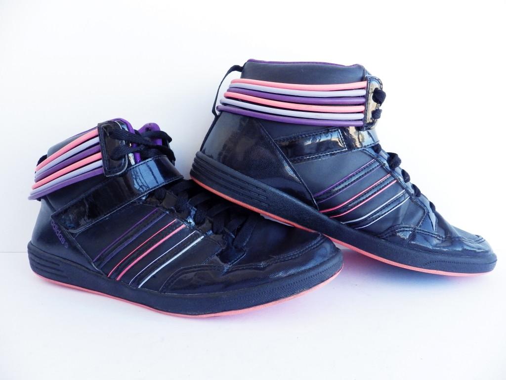 eafbc7c0 Женские высокие кроссовки Adidas Neo 100% Оригинал р-р 40,5 (25,5 см)  (б/у,сток) original адидас
