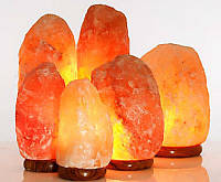 Применении соляной лампы