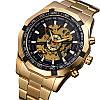 Мужские Наручные Механические Часы Скелетон с Автоподзаводом - Фото