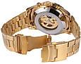Мужские Наручные Механические Часы Скелетон с Автоподзаводом, фото 7