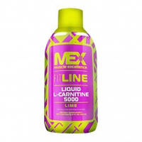 MEX Nutrition Liquid L-Carnitine 5000 , 503 мл. Л-карнитин,жиросжигатель.