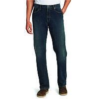 Джинсы Eddie Bauer Men Authentic Jeans Relaxed Fit LONG DK HERITAGE 34-34  Синие ( 895c12a53d502