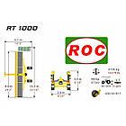 Стрічковий валкоутворювач RT 1000 (Італія), фото 10