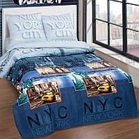 """Комплект постельного белья """"Нью-Йорк Сити"""", поплин"""