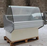 """Холодильная витрина гастрономическая """"COLD W12SG """"1,2 м. (Польша), широкая выкладка 70 см. Б/у, фото 1"""