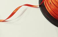 Лента атласная 3 мм, двухсторонняя (охра)