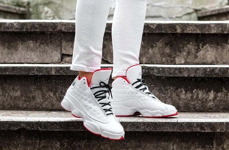 """386a6496 Баскетбольные кроссовки Nike Air Jordan 13 Retro GS """"History of Flight"""
