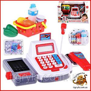 Кассовый аппарат детский игровой набор Касса детская Игрушка магазин детский игровой набор 2294