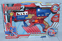 Бластер с поролоновыми снарядами, в коробке, 33*22*6 см., фото 1