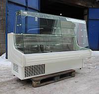 """Кондитерская холодильная витрина """"MAWI"""" 2,0 м. (Польша) Широкая выкладка 70 см. Б/у, фото 1"""