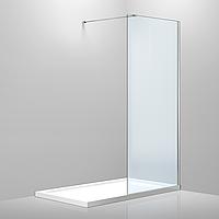 Стенка 1200*2000 мм, каленое прозрачное стекло 8мм